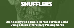 A zombie horror card game