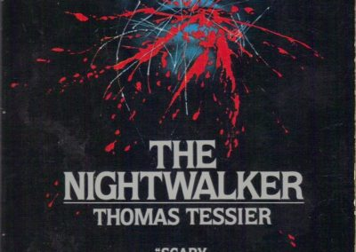 Nightwalker, (Apr 1981, Thomas Tessier, publ. Signet New American Library, 0-451-09720-3, $2.50, 183pp, pb