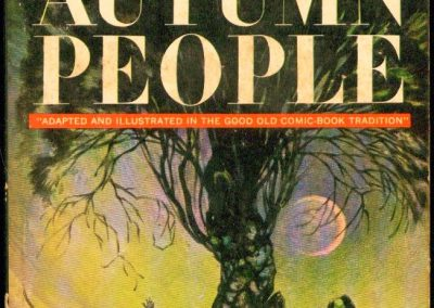 The Autumn People, (Oct 1965, Ray Bradbury, publ. Ballantine, U2141, $0.50, 188pp, pb, coll) Cover Frank Frazetta