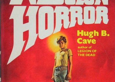 The Nebulon Horror, (Mar 1980, Hugh B. Cave, publ. Dell, 0-440-16001-4, $1.95, 238pp, pb) Cover Boris Vallejo