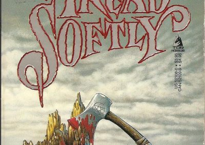 Tread Softly - Richard Laymon - Tor Horror pbk - 1987