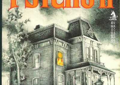 psycho 2 - Robert Bloch - Tor Books - 1989 - cover Joe DeVito