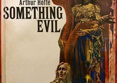 something evil arthur hoffe bob foster art avon books 1968